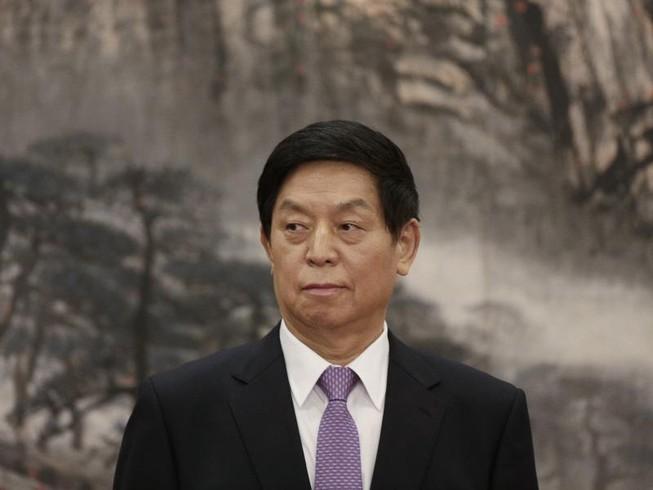 Chủ tịch Quốc hội Trung Quốc Lật Chiến Thư. Ảnh: BLOOMBERG