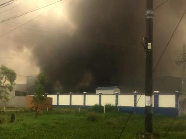 Cháy Công ty May Nhà Bè tại Sóc Trăng