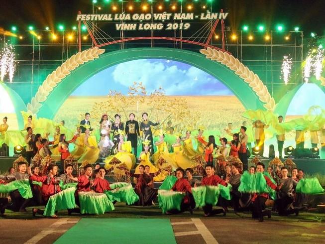 Khai mạc Festival lúa gạo Việt Nam