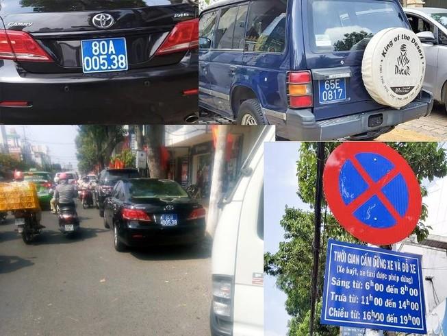 Nhiều xe biển xanh đậu gần 1 tiệc cưới ở Tiền Giang