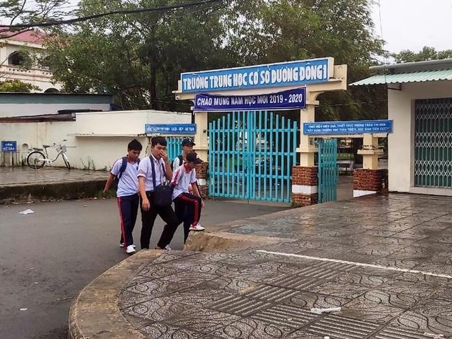 Sở GD Kiên Giang nói lại việc học sinh Phú Quốc được nghỉ học