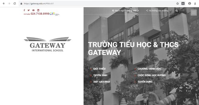 Đâu là tên gọi đúng của trường Gateway?
