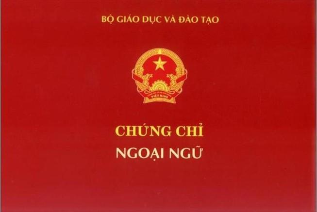 Bộ GD bỏ quy định kiểm tra, cấp chứng chỉ ngoại ngữ A, B, C