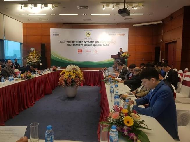 'Ở Việt Nam, ngân hàng không coi ruộng là tài sản thực sự'