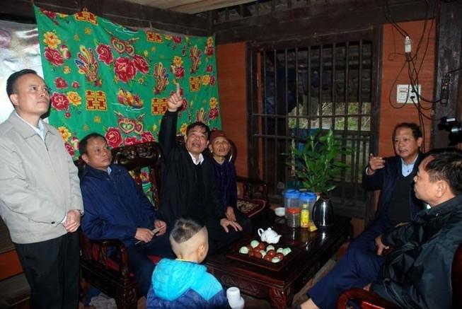 Mùng 1 tết, Bộ trưởng Nguyễn Xuân Cường đi kiểm tra khẩn