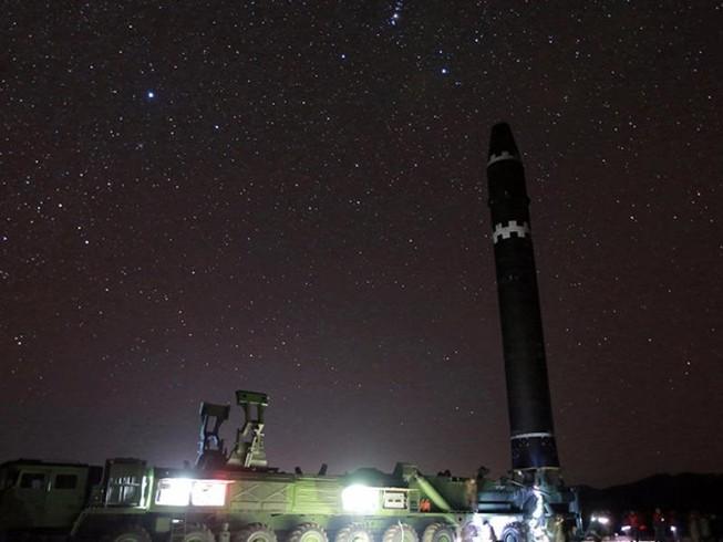 Ảnh Triều Tiên chụp tên lửa đã qua chỉnh sửa?