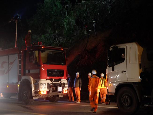 Cháy lớn tại rừng Nam Hải Vân