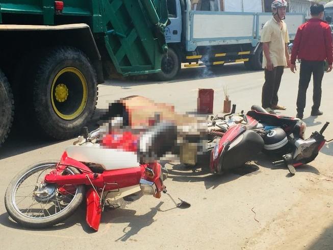 Bình Chánh: Nam sinh lớp 10 tử nạn dưới bánh ô tô