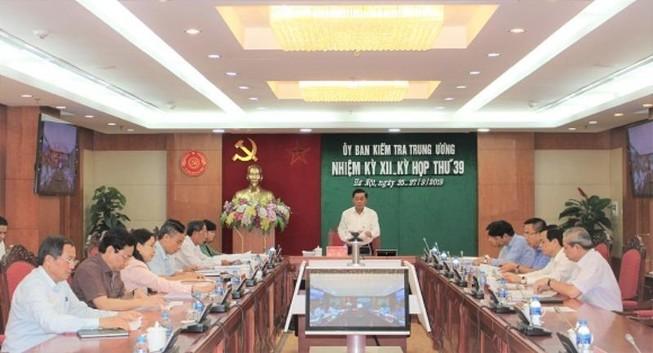 Ủy ban Kiểm tra kết luận về Khánh Hòa, Tập đoàn Xăng dầu
