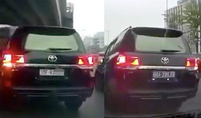 Cục CSGT 'điểm mặt' hành vi hô biến biển số xe