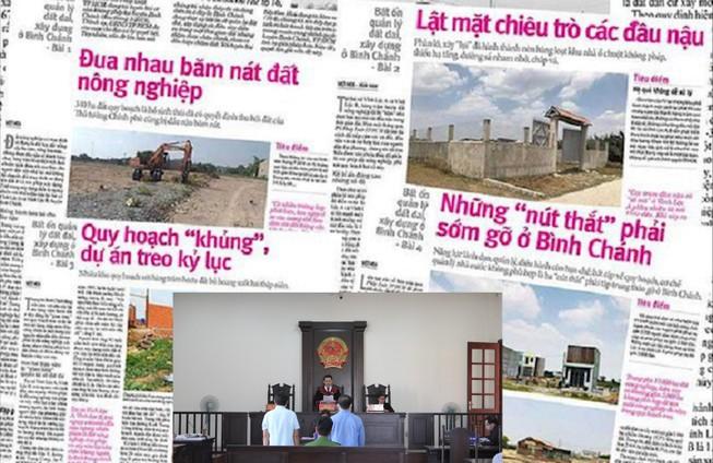 Cựu cán bộ địa chính xã ở Bình Chánh khai bị chủ đầu tư đe dọa