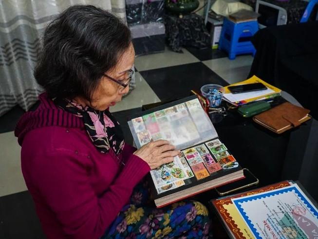 Người phụ nữ hơn 50 năm sưu tầm tem về 12 con giáp