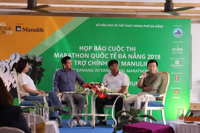 MC Phan Anh, Trang Hạ cùng chạy vì... yêu Đà Nẵng