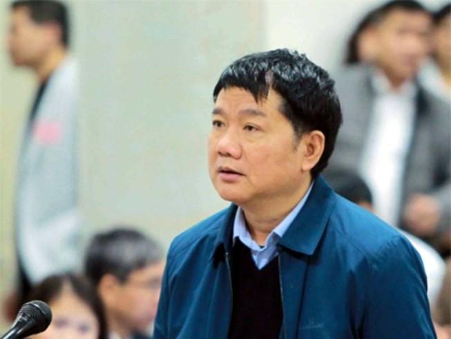 Ông Đinh La Thăng từ chối trả lời LS vì lý do sức khỏe
