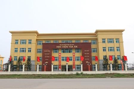 Học viện Tòa án khai giảng lớp nghiệp vụ thư ký tòa