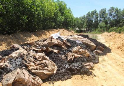 Điều tra vụ chôn chất thải của Formosa vào trang trại của giám đốc