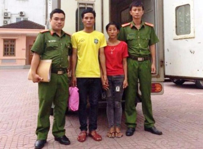 Cô gái trở về từ Trung Quốc tố cáo nhóm buôn trẻ em