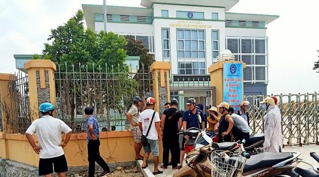 Hiện trường đầy dấu vết trong vụ bảo vệ BHXH bị sát hại