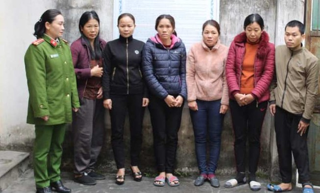 5 phụ nữ tổ chức đường dây lô đề tiền tỉ
