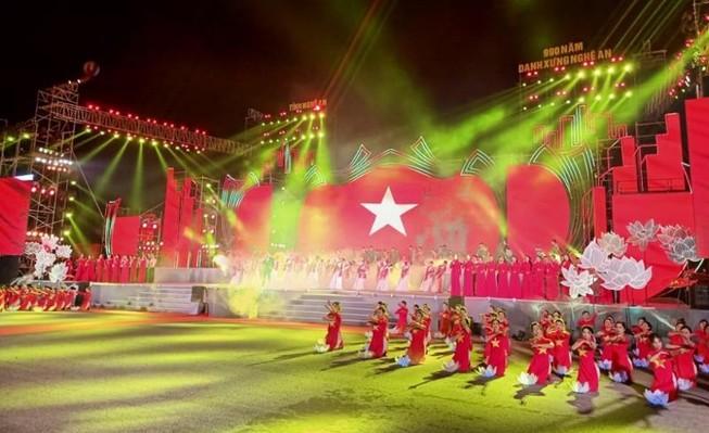 Long trọng kỷ niệm 990 năm danh xưng Nghệ An