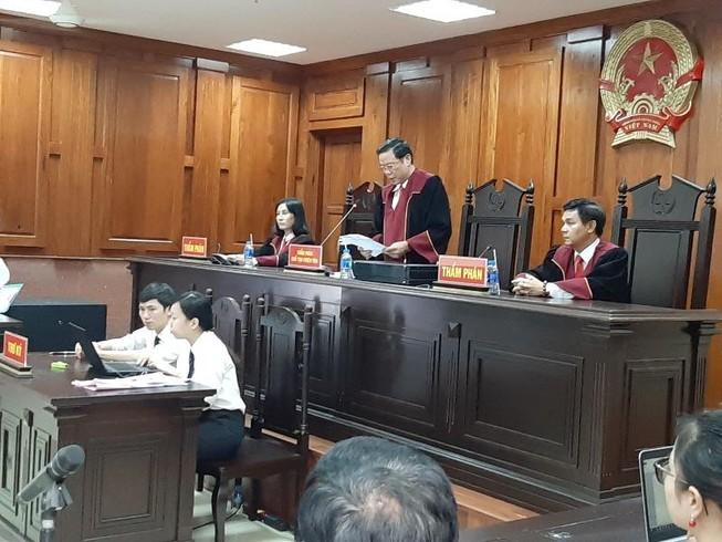 Đang tuyên án phúc thẩm vụ Phạm Công Danh