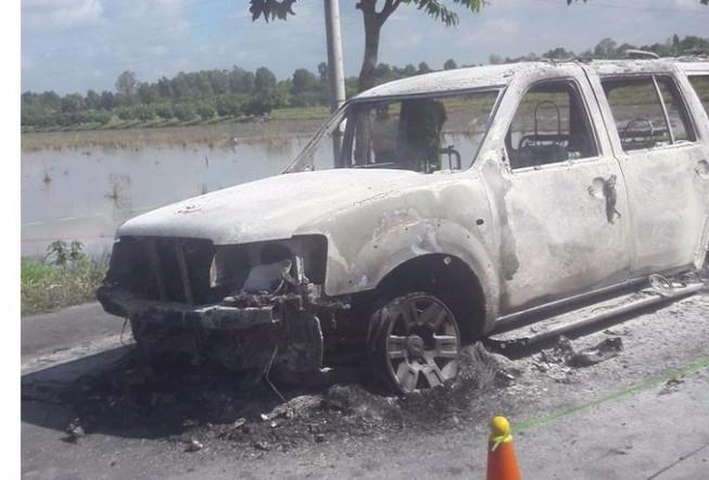 Vụ cháy xe ở Hậu Giang: Khởi tố vụ án giết người