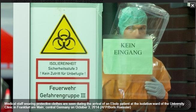 Nhân viên Liên hiệp quốc tử vong vì Ebola