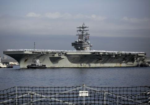Tàu ngầm Trung Quốc theo dõi tàu sân bay Mỹ ngoài khơi Nhật Bản