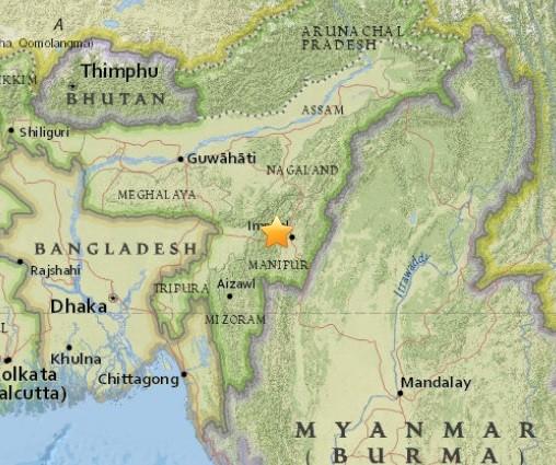 Động đất 6,7 độ Richter tấn công Ấn Độ