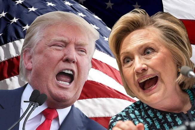 Hillary Clinton và Donald Trump 'ít được yêu thích nhất thập kỷ'