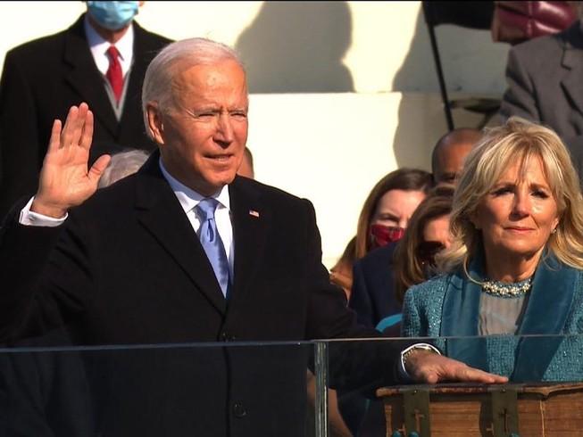 Tân tổng thống thứ 46 của Mỹ - Joe Biden. Ảnh: CNN