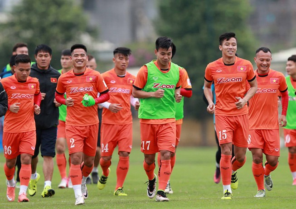 6 cầu thủ HA Gia Lai lên tuyển quốc gia