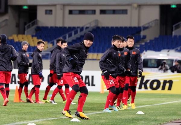 Thầy trò Park Hang-seo không ngán U-23 Hàn Quốc
