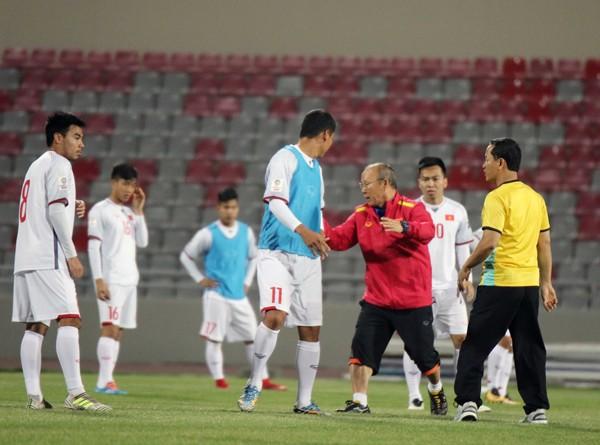 Ông Park Hang-seo tự tin từ hòa tới thắng Jordan