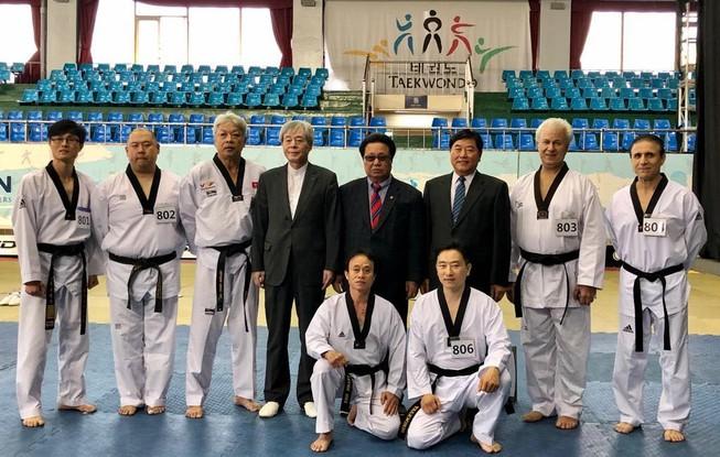 Võ sư đầu tiên của Việt Nam đạt 9 đẳng Kukkiwon