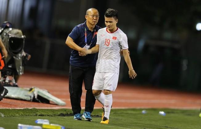 Vì sao ông Park không tiếp tục cho Quang Hải chơi SEA Games?