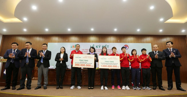 100 tỉ đồng giúp tuyển nữ Việt Nam đá cúp thế giới