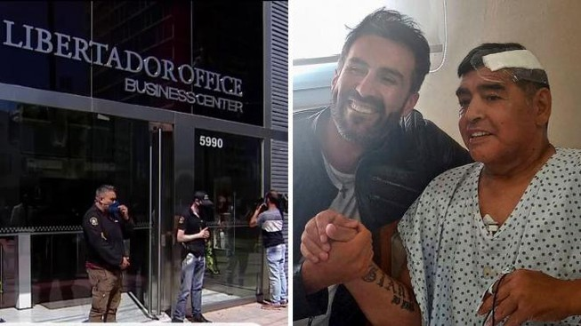 Cảnh sát Argentina 'sờ gáy' bác sĩ của Maradona