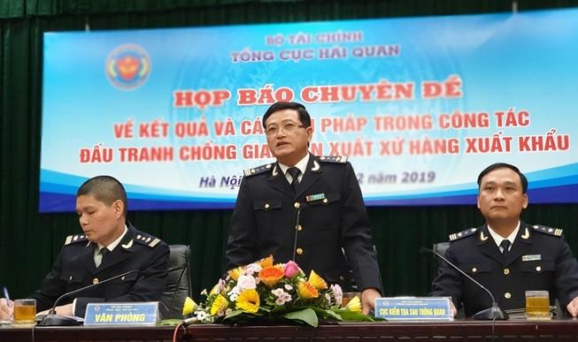Phát hiện công ty Trung Quốc đội lốt hàng Việt xuất sang Mỹ