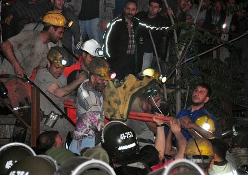 Hiện trường vụ nổ mỏ than khiến 201 người chết ở TNK