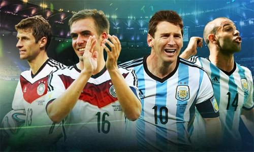 Argentina - Đức: Hơn 20 năm chờ đợi giấc mộng bá vương
