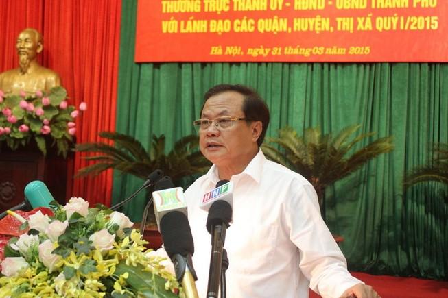 Bí thư Thành ủy Hà Nội: 'Vụ chặt cây xanh chúng ta phải tự kiểm điểm, phê bình'