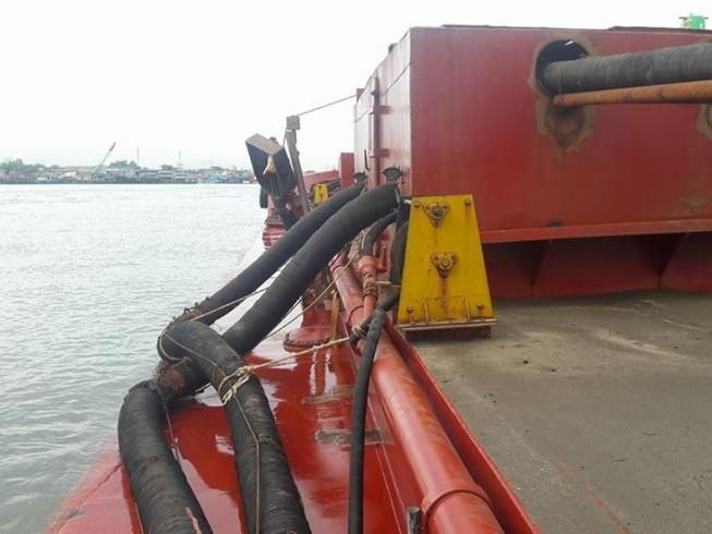 Bắt 6 tàu lớn hút trộm cát ở biển Cồn Ngựa, Vũng Tàu