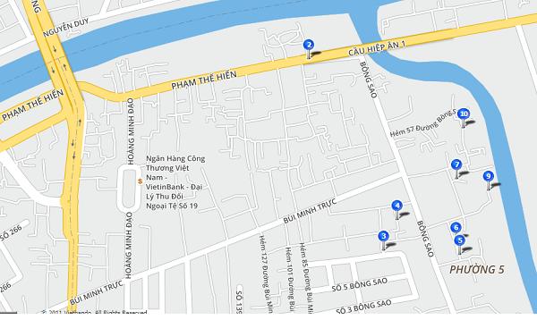 Bắt đầu rào chắn trên đường Phạm Thế Hiển, quận 8