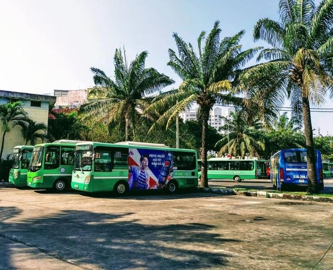 Sắp di dời bến xe buýt ở Công viên 23-9