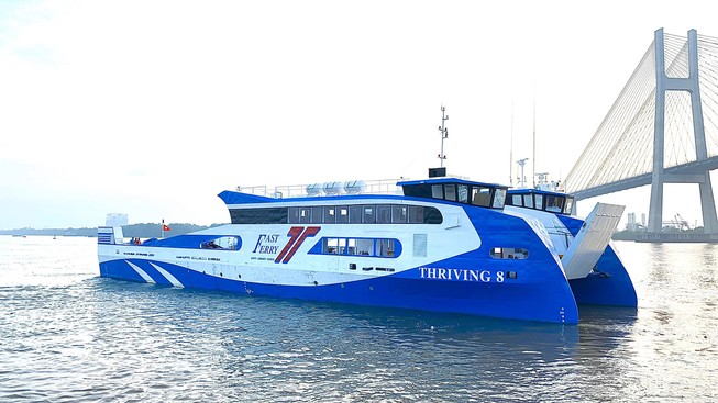 Sắp có tuyến phà biển TP.HCM - Vũng Tàu