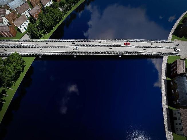 Cầu sắt An Phú Đông được mong chờ hoàn thành trong năm mới