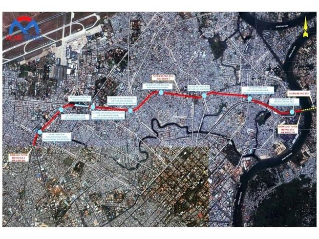 Tuyến Metro số 5 sẽ được thực hiện theo mô hình TOD