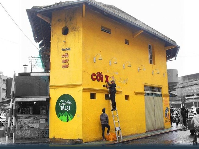 Hôm nay, bức tường Tiệm bánh Cối Xay Gió chính thức xóa bỏ