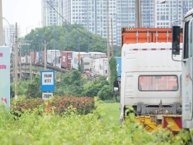 Cấm xe tải trong ngày công bố thành lập TP Thủ Đức